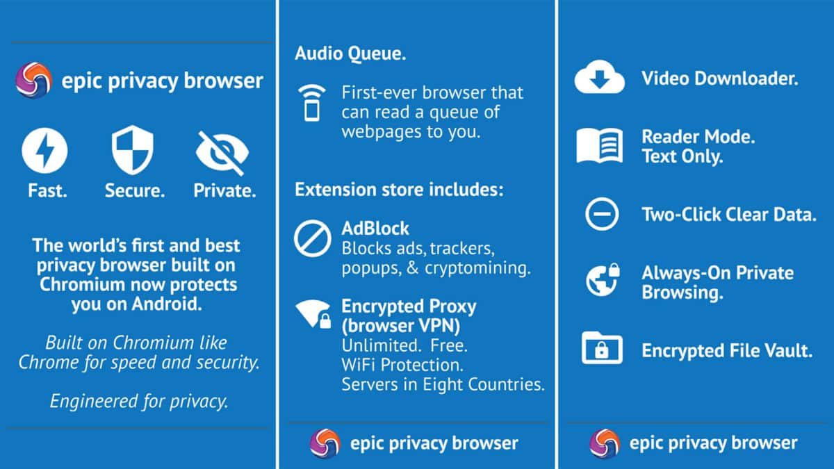 Epic-Privacy-Browser
