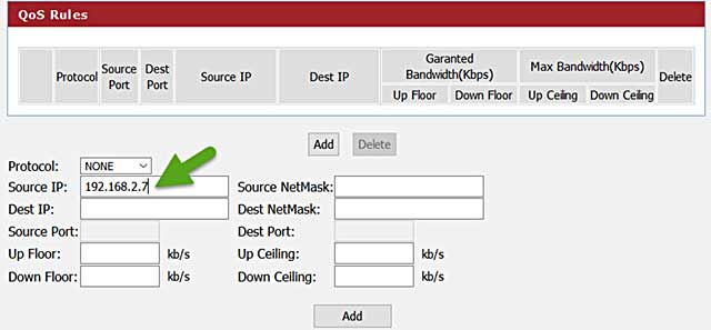Masukkan-alamat-IP-perangkat-yang-ingin-dibatasi-kecepatannya-di-bagian-Source-IP